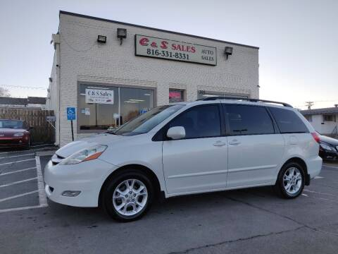 2006 Toyota Sienna for sale at C & S SALES in Belton MO