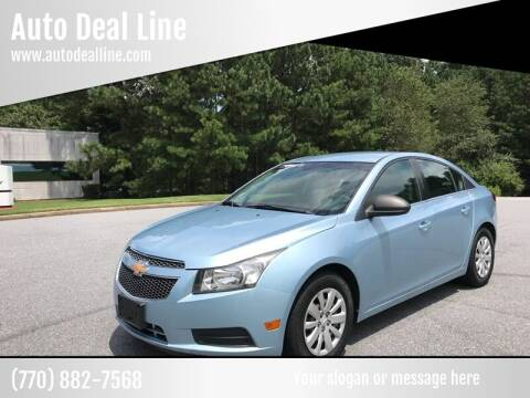 2011 Chevrolet Cruze for sale at Auto Deal Line in Alpharetta GA