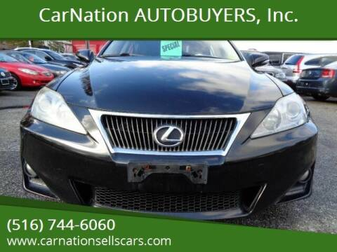 2011 Lexus IS 250 for sale at CarNation AUTOBUYERS, Inc. in Rockville Centre NY