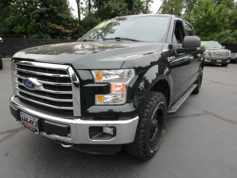 2016 Ford F-150 for sale at LULAY'S CAR CONNECTION in Salem OR