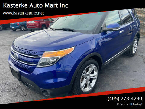 2015 Ford Explorer for sale at Kasterke Auto Mart Inc in Shawnee OK