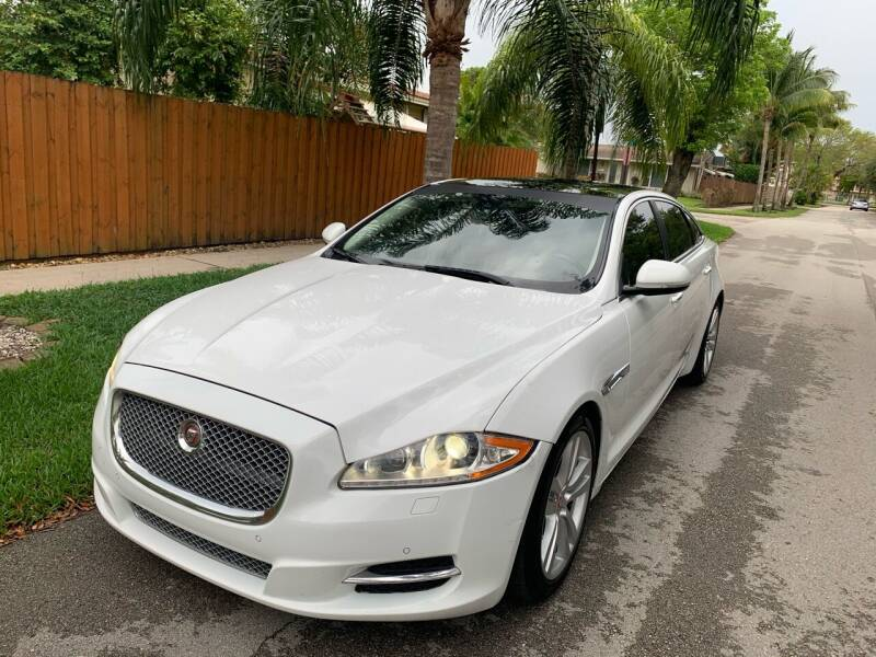 2015 Jaguar XJL for sale at FINANCIAL CLAIMS & SERVICING INC in Hollywood FL