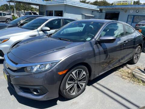 2017 Honda Civic for sale at HARE CREEK AUTOMOTIVE in Fort Bragg CA