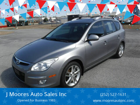 2012 Hyundai Elantra Touring for sale at J Moores Auto Sales Inc in Kinston NC