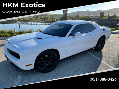 2013 Dodge Challenger for sale at HKM Exotics in Corona CA