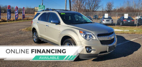2014 Chevrolet Equinox for sale at Transmart Autos in Zimmerman MN