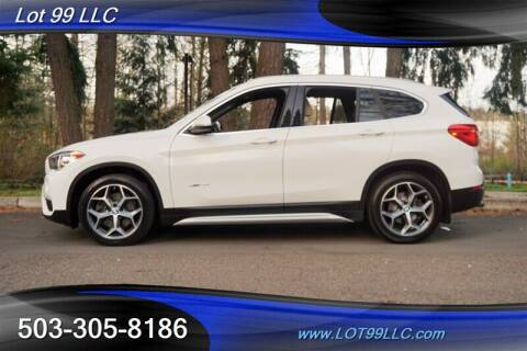 2018 BMW X1 for sale at LOT 99 LLC in Milwaukie OR