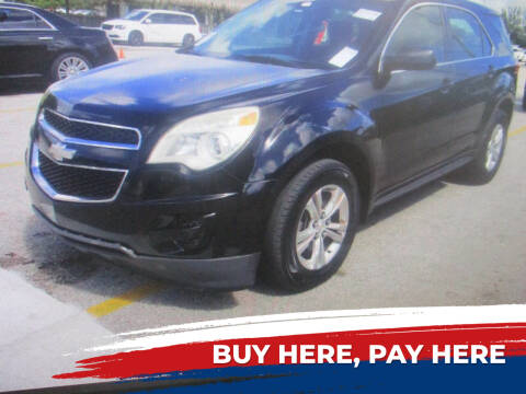 2012 Chevrolet Equinox for sale at K & V AUTO SALES LLC in Hollywood FL
