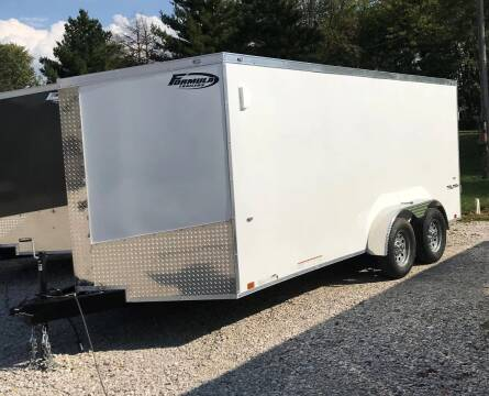 2019 Formula Trailers 7 X16 Enclosed for sale at Gaither Powersports & Trailer Sales in Linton IN