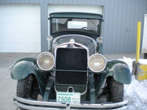 1928 Studebaker Commander for sale at Classic Car Deals in Cadillac MI