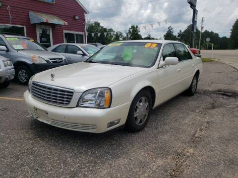 2003 Cadillac DeVille for sale at Hwy 13 Motors in Wisconsin Dells WI