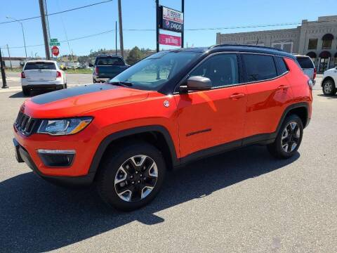 2018 Jeep Compass for sale at Kessler Auto Brokers in Billings MT