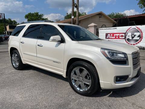 2014 GMC Acadia for sale at Auto A to Z / General McMullen in San Antonio TX
