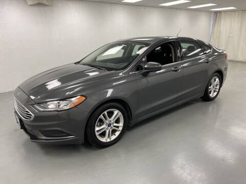 2018 Ford Fusion for sale at Kerns Ford Lincoln in Celina OH