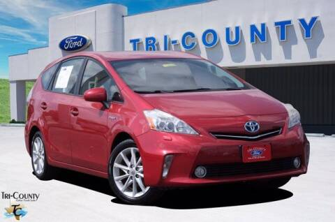2014 Toyota Prius v for sale at TRI-COUNTY FORD in Mabank TX