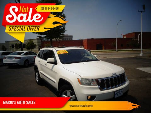 2012 Jeep Grand Cherokee for sale at MARIO'S AUTO SALES in Mount Clemens MI