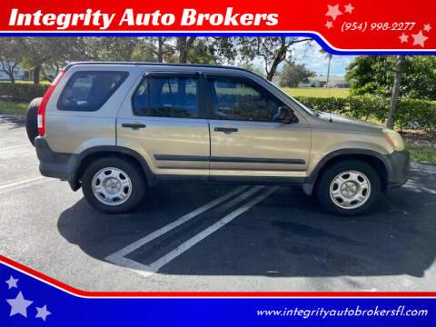 2006 Honda CR-V for sale at Integrity Auto Brokers in Pompano Beach FL