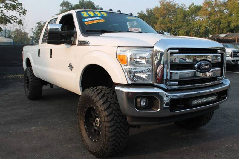 2012 Ford F-250 Super Duty for sale at EXPRESS CREDIT MOTORS in San Jose CA