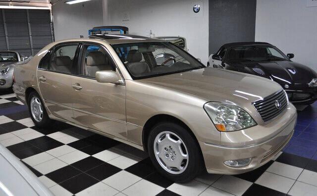 2002 Lexus LS 430 for sale at Podium Auto Sales Inc in Pompano Beach FL