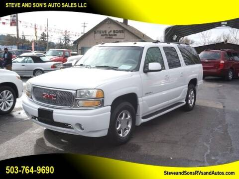 2004 GMC Yukon XL for sale at Steve & Sons Auto Sales in Happy Valley OR