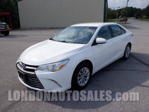 2016 Toyota Camry for sale at London Auto Sales LLC in London KY