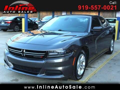2016 Dodge Charger for sale at Inline Auto Sales in Fuquay Varina NC