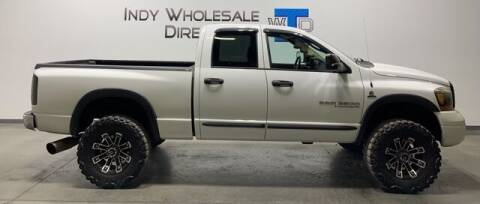 2006 Dodge Ram Pickup 2500 for sale at Indy Wholesale Direct in Carmel IN