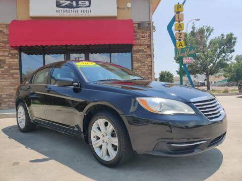 2013 Chrysler 200 for sale at 719 Automotive Group in Colorado Springs CO