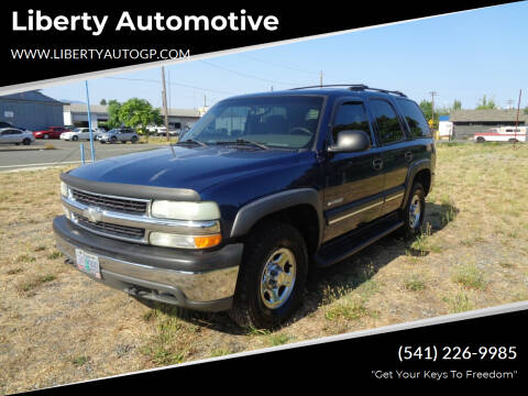 2003 Chevrolet Tahoe for sale at Liberty Automotive in Grants Pass OR