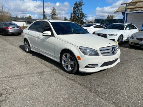 2011 Mercedes-Benz C-Class for sale at LKL Motors in Puyallup WA