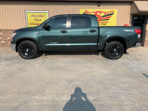 2008 Toyota Tundra for sale at BIG 'S' AUTO & TRACTOR SALES in Blanchard OK