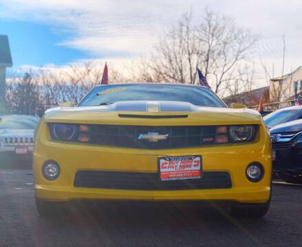 2010 Chevrolet Camaro for sale at Buy Here Pay Here Auto Sales in Newark NJ