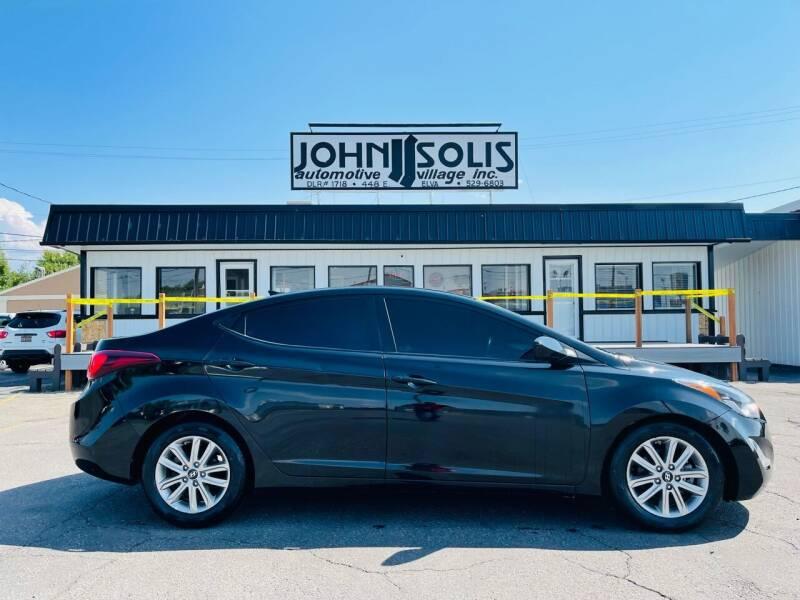 2016 Hyundai Elantra for sale at John Solis Automotive Village in Idaho Falls ID