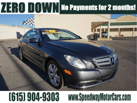 2012 Mercedes-Benz E-Class for sale at Speedway Motors in Murfreesboro TN