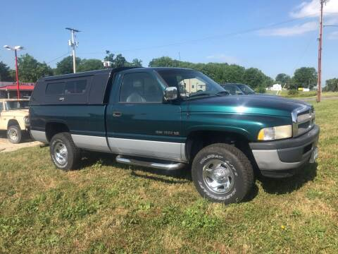 1996 Dodge Ram Pickup 1500 for sale at FIREBALL MOTORS LLC in Lowellville OH