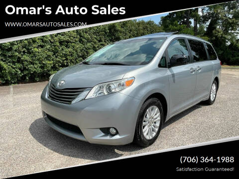 2014 Toyota Sienna for sale at Omar's Auto Sales in Martinez GA