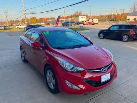 2013 Hyundai Elantra Coupe for sale at Auto Import Specialist LLC in South Bend IN
