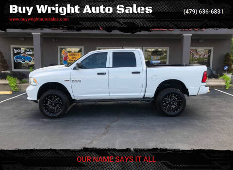 2014 RAM Ram Pickup 1500 for sale at Buy Wright Auto Sales in Rogers AR