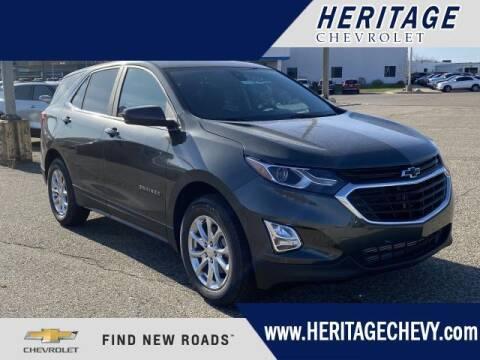 2021 Chevrolet Equinox for sale at HERITAGE CHEVROLET INC in Creek MI