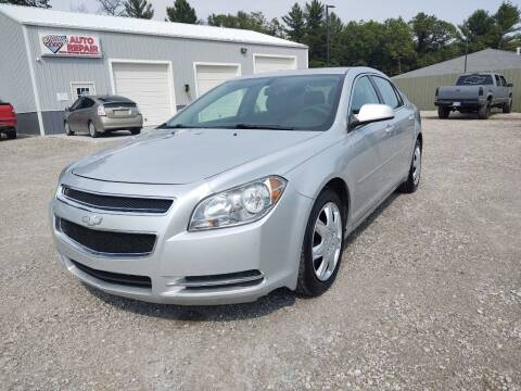 2010 Chevrolet Malibu for sale at Hilltop Auto in Prescott MI