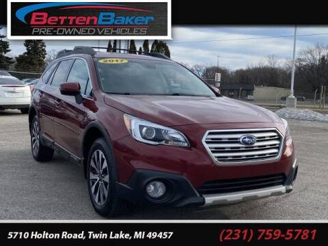 2017 Subaru Outback for sale at Betten Baker Preowned Center in Twin Lake MI