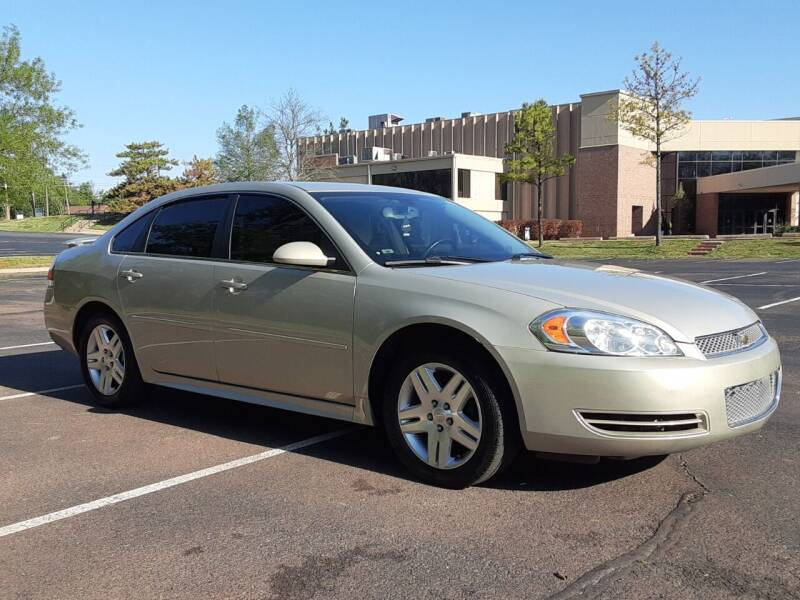 2012 Chevrolet Impala for sale at Red Rock Auto LLC in Oklahoma City OK