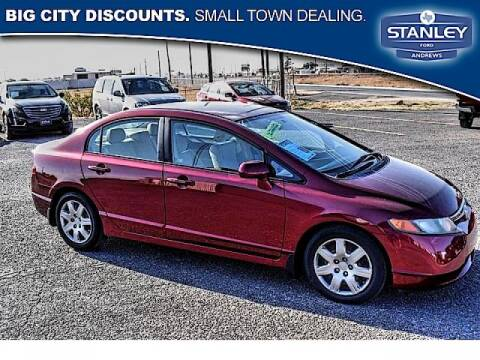2008 Honda Civic for sale at STANLEY FORD ANDREWS Buy Here Pay Here in Andrews TX