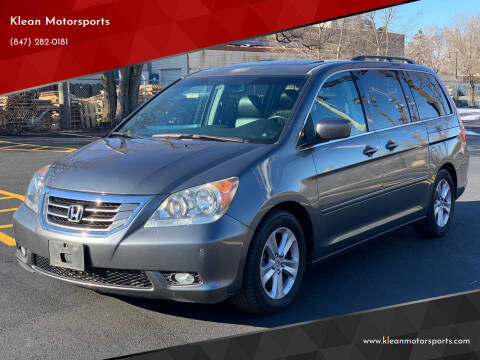 2010 Honda Odyssey for sale at Klean Motorsports in Skokie IL