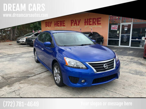 2014 Nissan Sentra for sale at DREAM CARS in Stuart FL