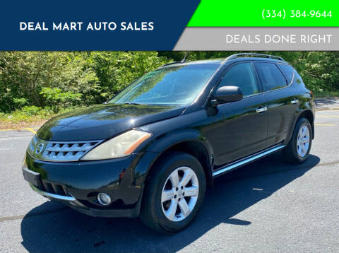 2006 Nissan Murano for sale at Deal Mart Auto Sales in Phenix City AL