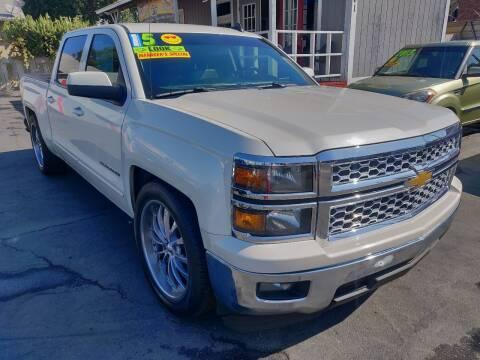 2015 Chevrolet Silverado 1500 for sale at Rey's Auto Sales in Stockton CA