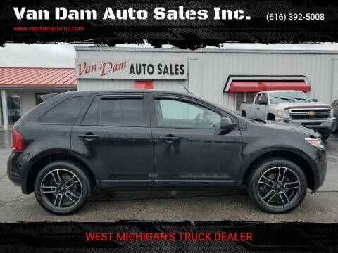 2014 Ford Edge for sale at Van Dam Auto Sales Inc. in Holland MI