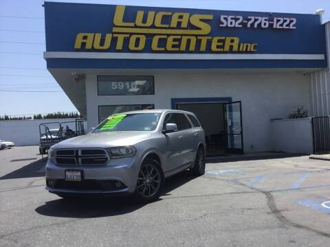 2017 Dodge Durango for sale at Lucas Auto Center in South Gate CA