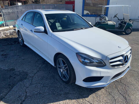 2015 Mercedes-Benz E-Class for sale at Ol Mac Motors in Topeka KS